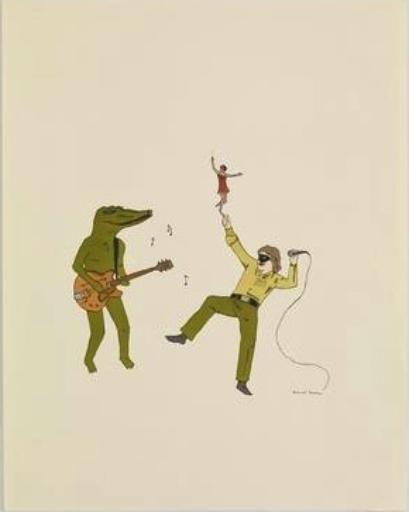 Crocodile Rock - Marcel Dzama