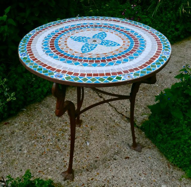 Garden Furniture Mosaic 15 best art nouveau mosaic images on pinterest | mosaic art