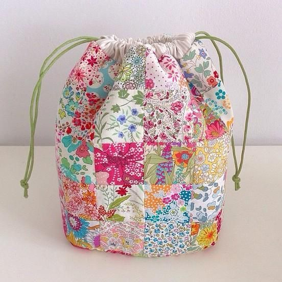 Best 25  Drawstring bag pattern ideas only on Pinterest ...