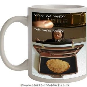 PULP FICTION OATCAKE STOKE ON TRENT MUG