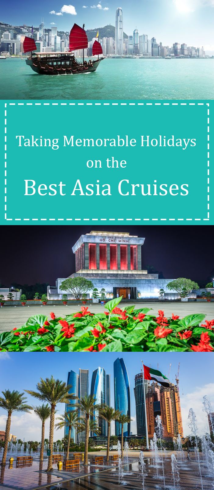 Regardless of where the best Asia cruises take you, ensure you carry all your five senses with you; you will experience a fine mix of exotic tastes, experiences, sounds and sites that will sure stretch you to your ecstatic limits.