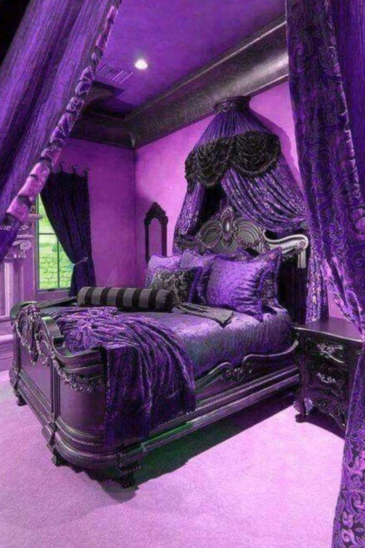 Purple Bedroom Cheap | Purple bedrooms, Purple bedroom ...