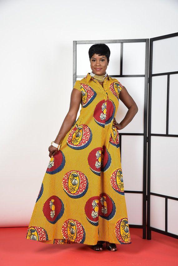 BLACK histoire vente Cece jaune robe Maxi caftan. par RAHYMA