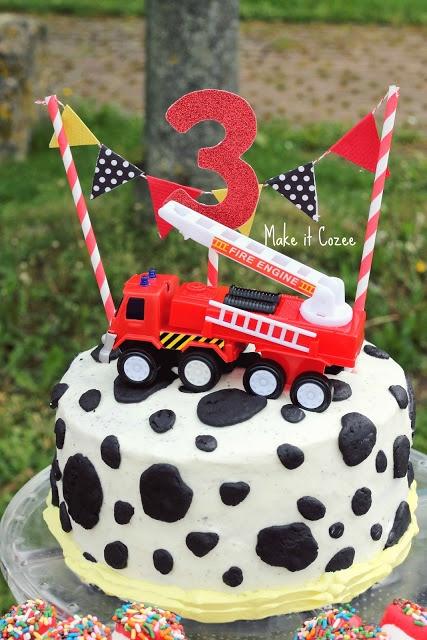 #brandweerwagen #taart #zelfmaken