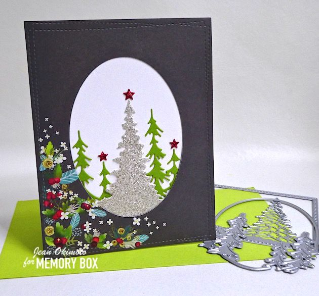 2020 Memory Christmas Cards P1160579 in 2020   Memory box cards, Memory box, Halloween cards