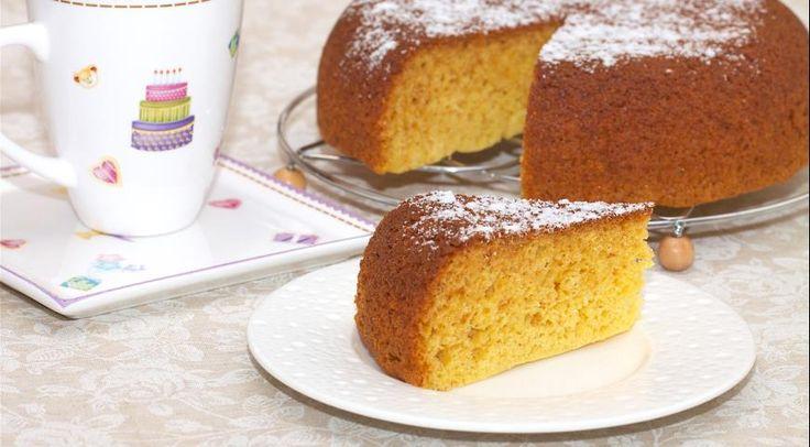 Кукурузный пирог с медом из мультиварки
