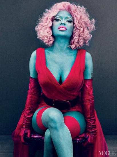 Niki Minaj - this is kind of how i picture Octavia from The Hunger Games