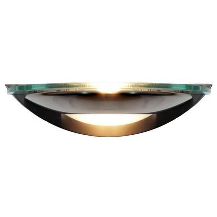 Satin Nickel Wall Light | Dunelm