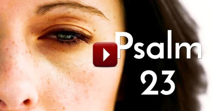 Every year, Psalm 23 ranks as one of the most-read chapters of the Bible. This inspiring version will show you exactly why people find so much comfort in those verses. Seriously, WOW!