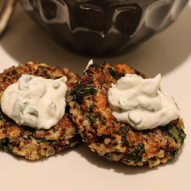 Spinach Feta Quinoa Cakes | KP Winter Meals | Pinterest | Products ...