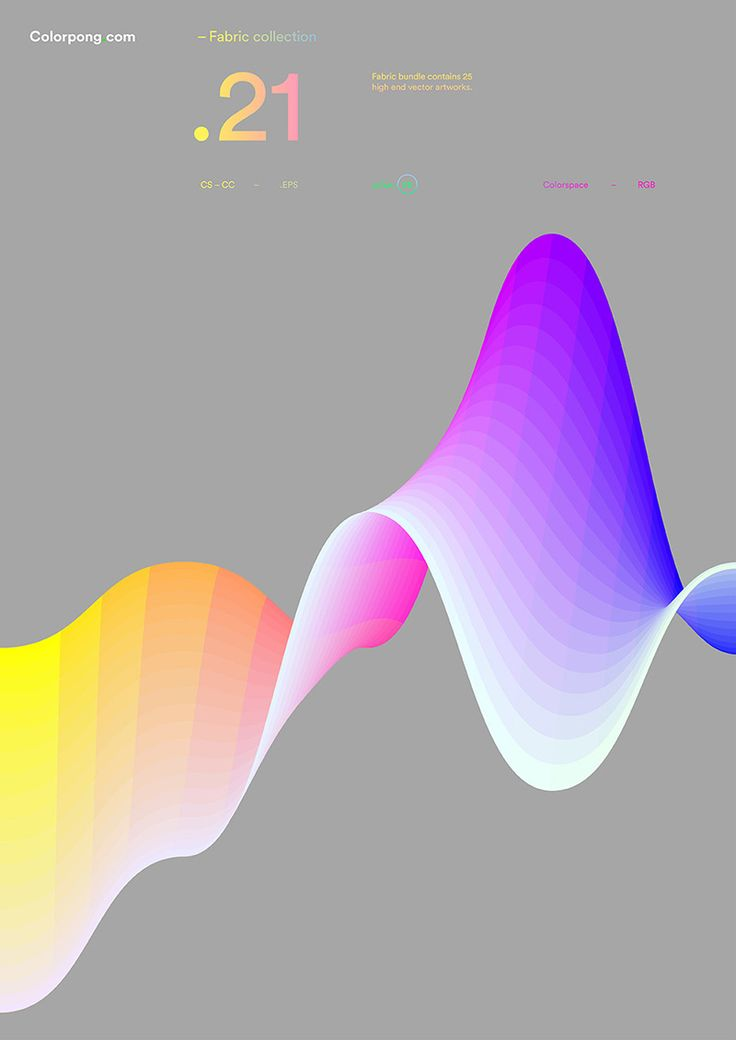 Colorpong.com - Fabric – Vector Collection on Behance