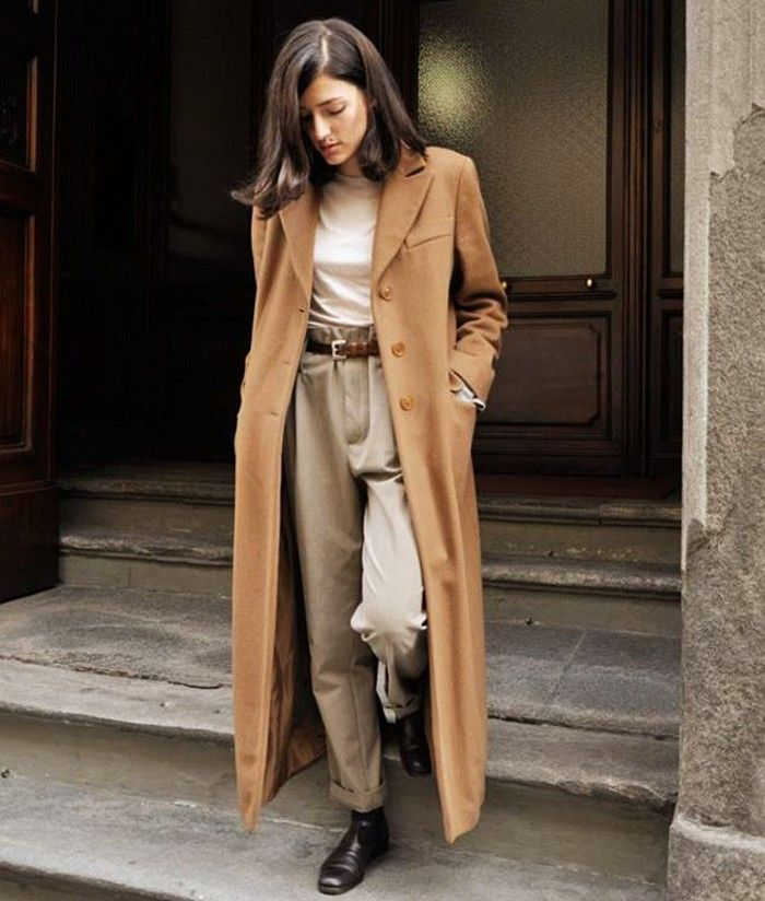 Proof That Camel Coats Look Great On Everyone Outfit