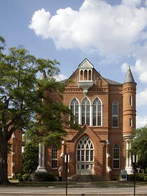 University of Alabama-Clark Hall.  I used to work in this building on the top floor.