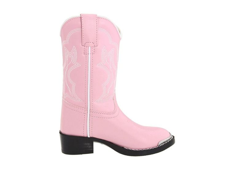 Durango Kids BT858 (Toddler/Little Kid) Cowboy Boots Pink