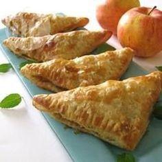 Rezeptbild: Apfeltaschen mit Blätterteig