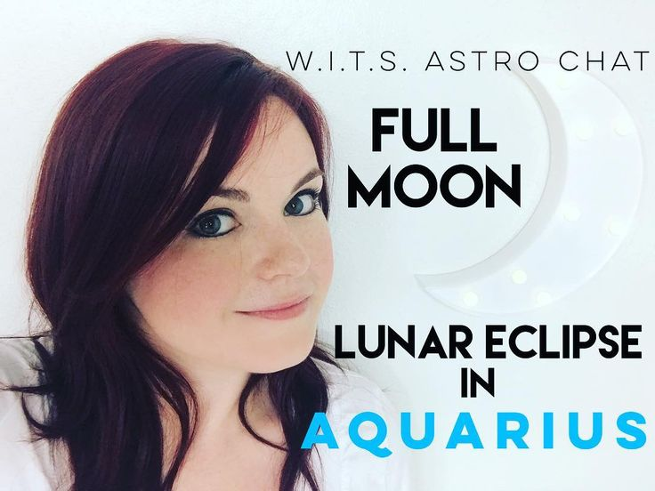 PRACTICAL MAGIC ALERT!  The Full Moon Lunar Eclipse is coming up in less than 24 hours in the progressive rebellious sign of Aquarius. What does that mean and how can you make the most of this momentous celestial event?!  Find out in this quick video! Please forgive the focus issues... I blame Mercury Retrograde's shadow phase! @___@