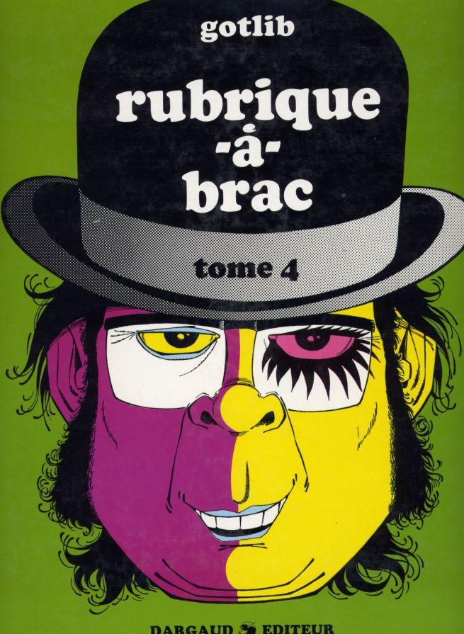 Gotlib Rubrique a Brac volume 4