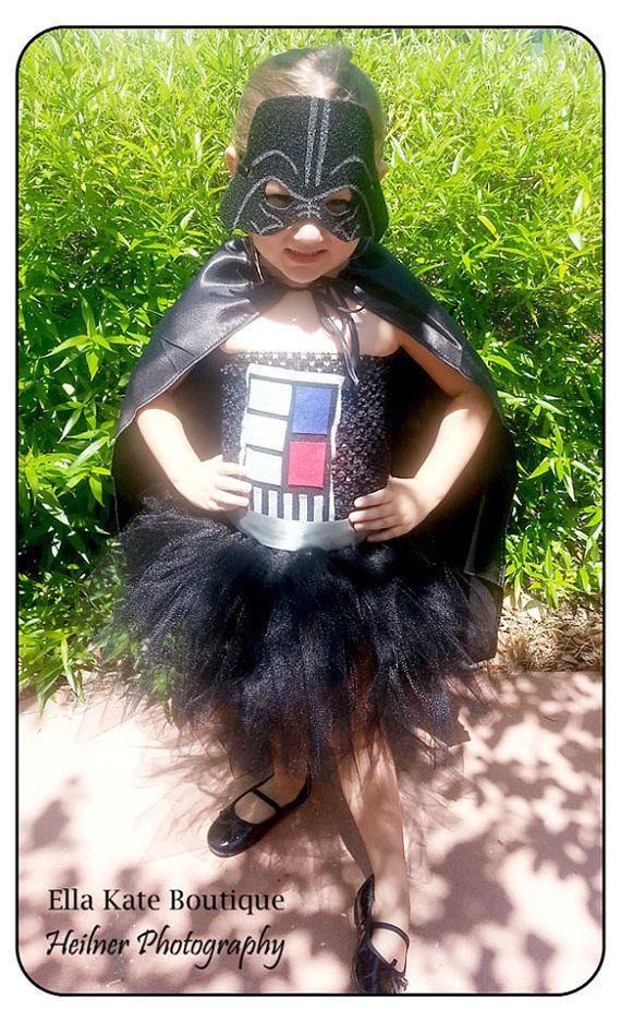 Darth Vader Tutu Dress Size 2t-5t Star Wars Return of the Jedi Fans Must Have! on Etsy, $60.00