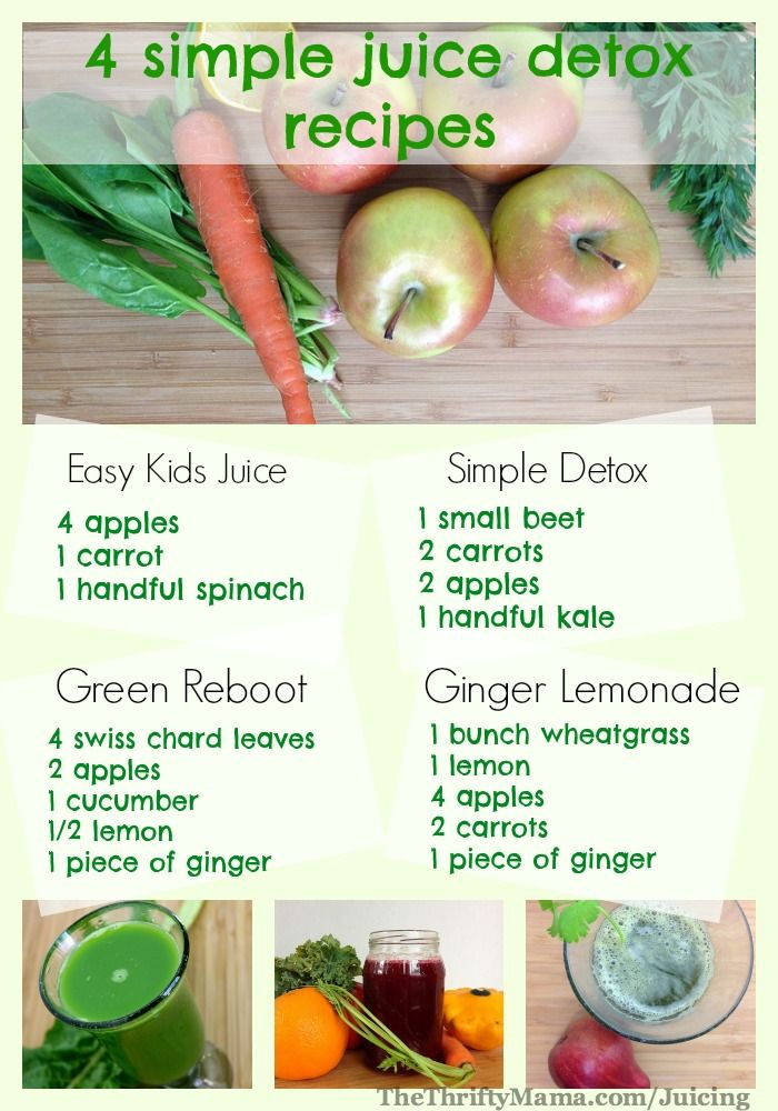 Healthy Juicing Recipes: 4 simple and easy juice recipes. www.draxe.com #recipe #juicing #health