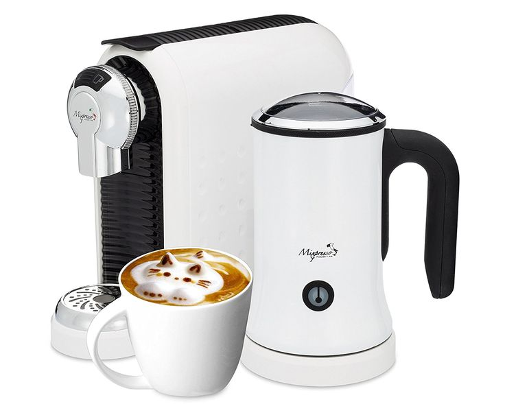 Latte Machine - Nespresso Compatible Capsules - By Mixpresso (White) ** This is an Amazon Affiliate link. You can find out more details at the link of the image.