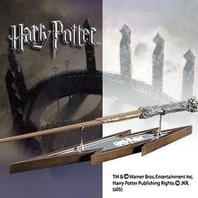 Noble Collection - Harry Potter Lightning-Bolt Wand Display 33cm -- Click on the image for additional details.