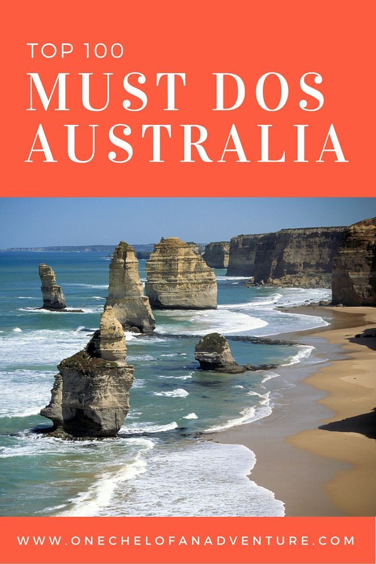 Top 100 Things you must do in Australia