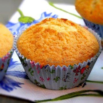Muffins à la mangue et au citron (12 muffins)   Une Plume dans la Cuisine