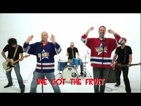 Fruit of the Spirit by the Go Fish guys.  Super awesome high energy!  I love this one... singing I all day