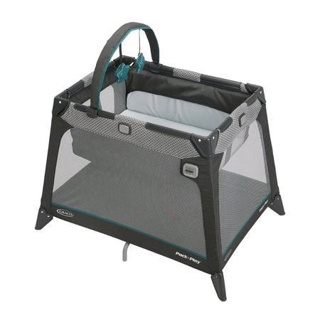 Манеж Graco Nimble Nook  /1943815  — 10900р. ------------------- Самая компактная дорожная кроватка идеально подойдет для путешествий с малышом. Компактная конструкция, трапециевидная форма и легкие материалы делают эту кроватку мобильной и практичной. Матрасик с жёстким дном легко трансформируется при необходимости как в дно манежа так и обратно в спальное место. Удобный механизм складывания в компактный куб. Весь манеж-кроватка упаковывается в небольшой удобный чехольчик/мешок. Люлька…