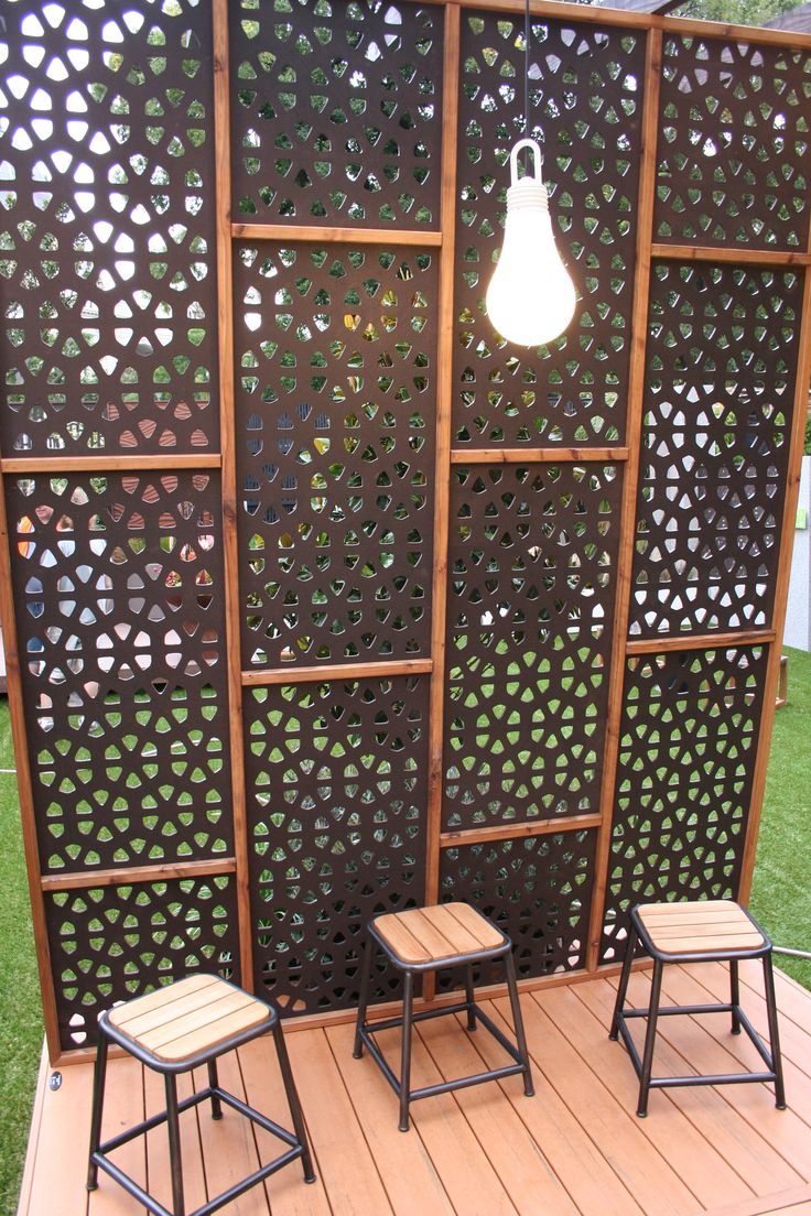 47 best outdeco decorative privacy screens images on pinterest decorative screens. Black Bedroom Furniture Sets. Home Design Ideas
