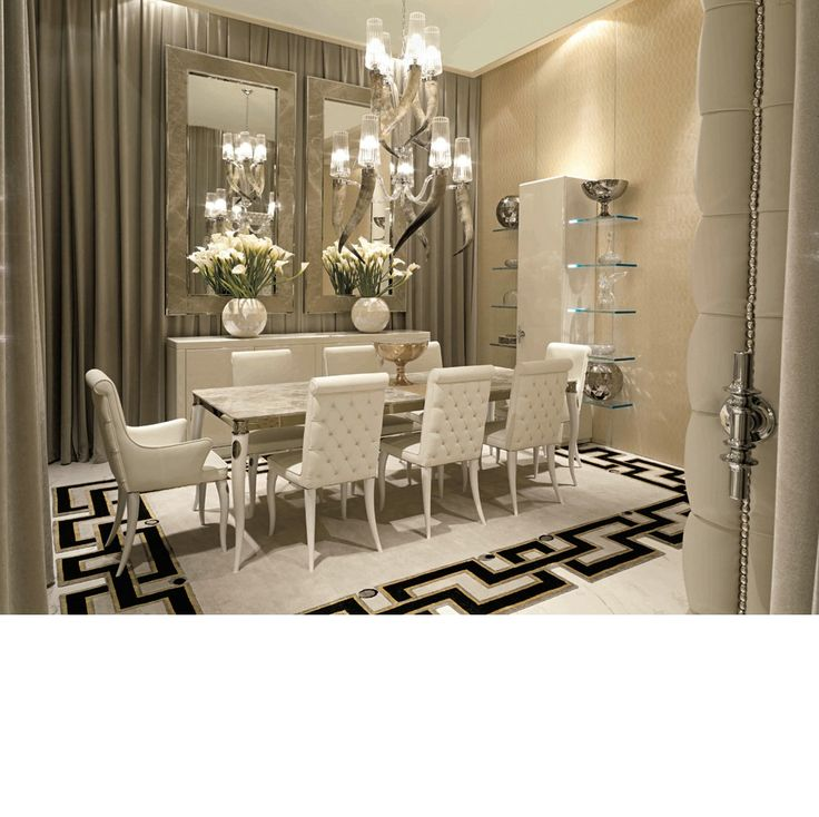 17 best ideas about luxury interior design on pinterest for Designer dining room suites