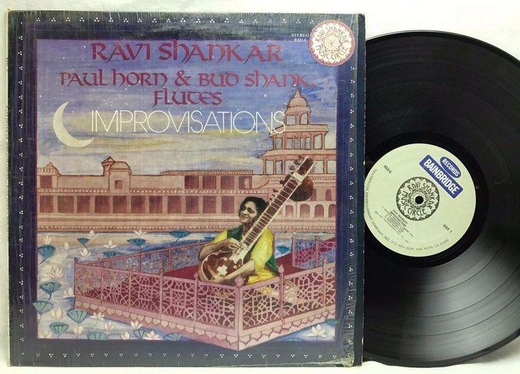 Ravi Shankar Paul Horn & Bud Shank - Improvisations #VinylRecords #LPs #Albums stores.ebay.com/capcollectibles