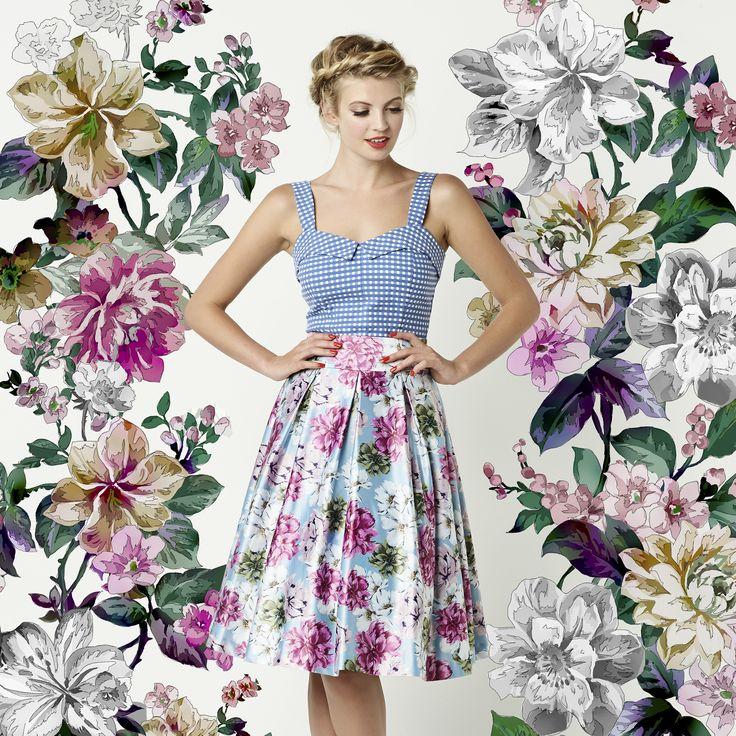 The Matilda Bodice & Fleur De Lis Skirt