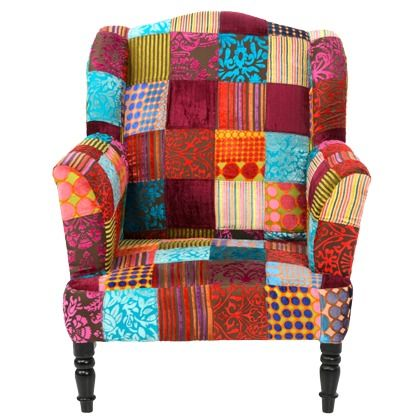 Ohrensessel patchwork  Oltre 25 fantastiche idee su Ohrensessel patchwork su Pinterest ...