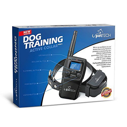 PetTech Remote Controlled Dog Training Collar, Rechargeable and All-Weather Resistant, All Size Dogs (10Lbs - 100Lbs), 1000ft Range   Check it out-->  https://mypets.us/product/pettech-remote-controlled-dog-training-collar-rechargeable-and-all-weather-resistant-all-size-dogs-10lbs-100lbs-1000ft-range/  #pet #food #bed #supplies