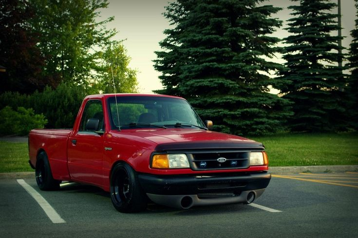 Uncommon Cars That Are Stanced Thread - Stanced Ford Ranger