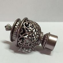 Perfect Rose Gold Alloy Curtain Rod Finials