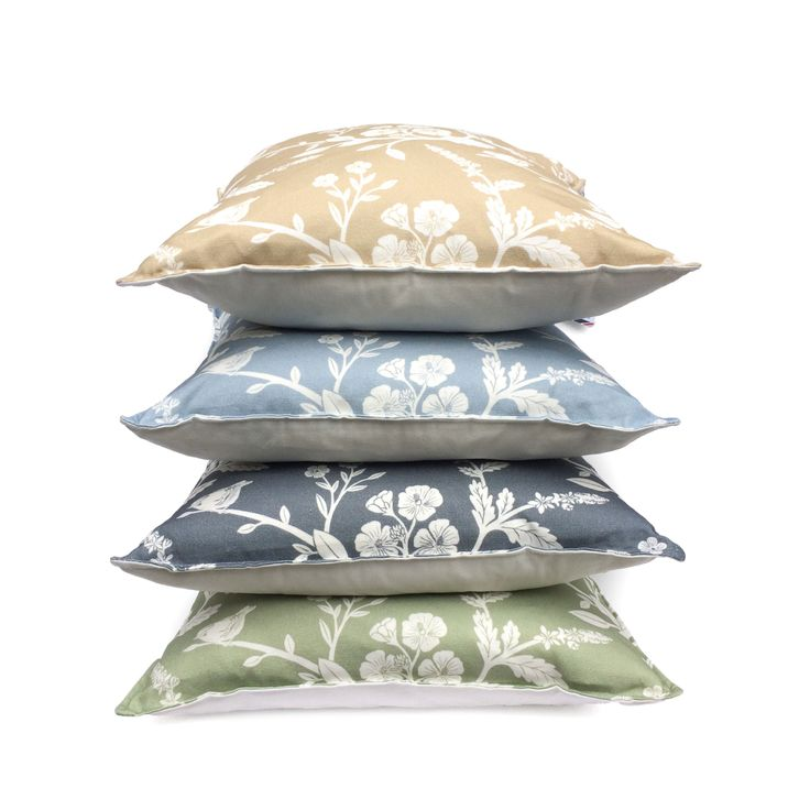 Watson West cushions now available online www.watsonwest.com/cushions  100% cotton covers with duck feather pad  Designed, printed and made in Britain.