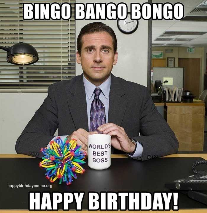 21 Funniest The Office Birthday Meme The Office Birthday Meme Happy Birthday Boss Funny Happy Birthday Meme