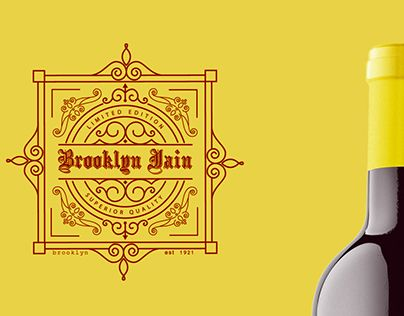 "Check out new work on my @Behance portfolio: ""Brooklyn Jain Concept wine bottle"" http://be.net/gallery/40769737/Brooklyn-Jain-Concept-wine-bottle"
