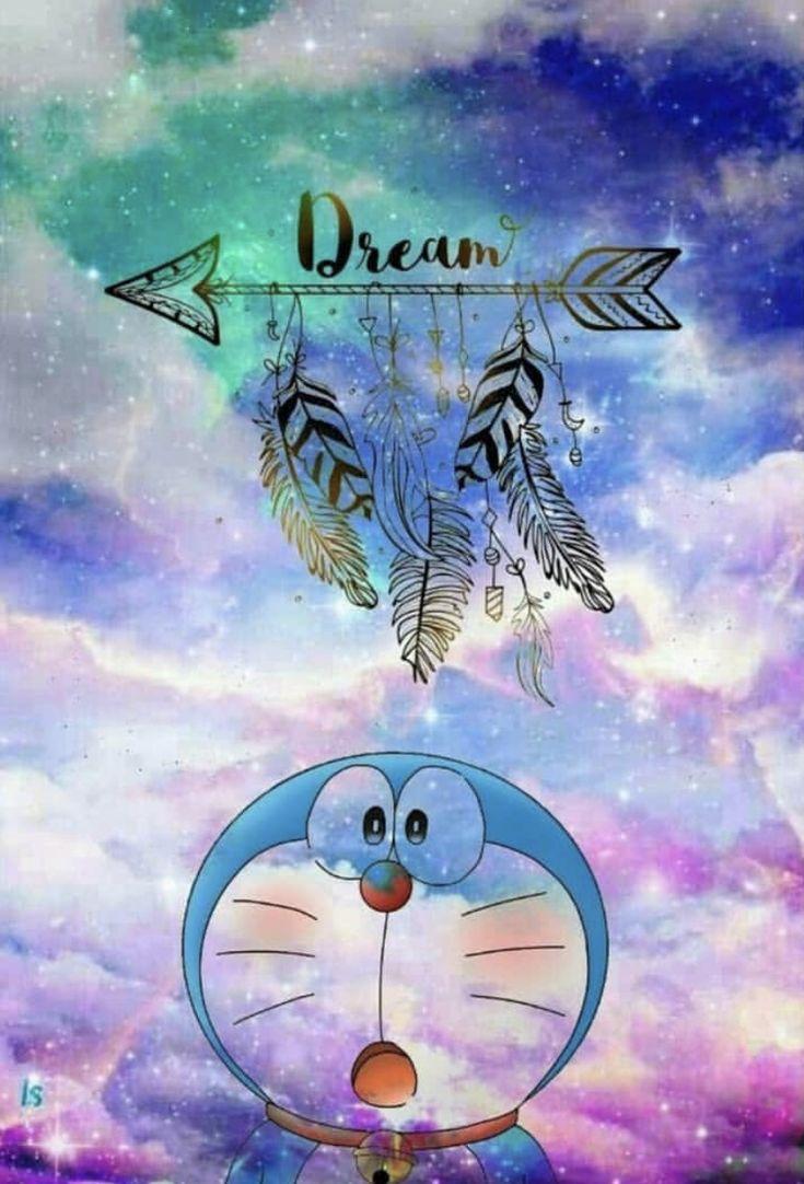 Doraemon Galaxy wallpaper, Wallpaper disney, Lukisan huruf