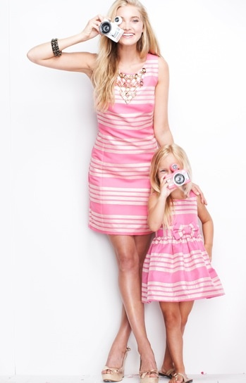 Perfect outfits for my little Lilly Anne and I for Christmas Eve Mass! #lillyholiday