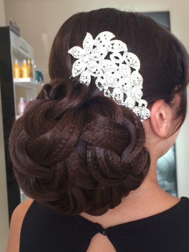 Brided hair