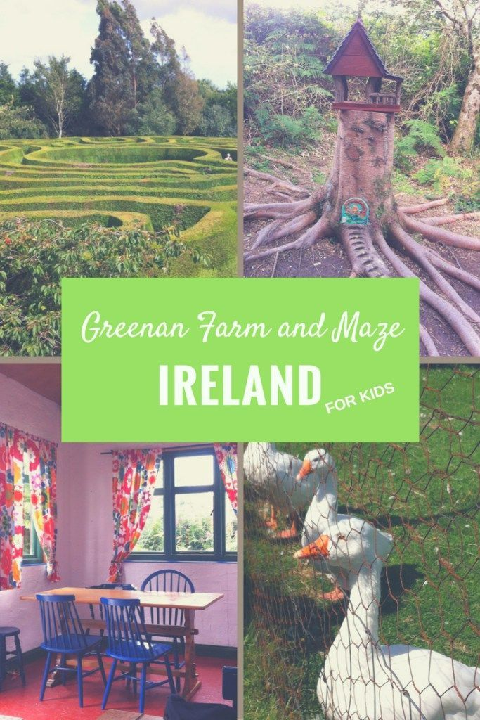 Greenan farm and maze are one of the most pleasant days out for families in Wicklow, Ireland. The farm has a lovely cafe, a fairy trail, a farm, a playground and of course a maze, not quite as easy to navigate as expected! Discover all you need to know to plan the perfect family day out at Greenan maze
