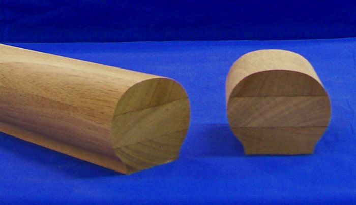 Kinzel Wood Products Store - K6610 Wood Handrail, $41.48 (http://store.kinzelwoodproducts.com/k6610-wood-handrail/)