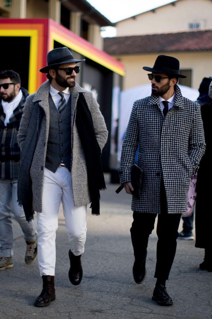 Мужские шляпы: с чем сочетать головные уборы, демонстрируют герои стритстайла на Неделях моды | GQ | Стиль | GQ.ru