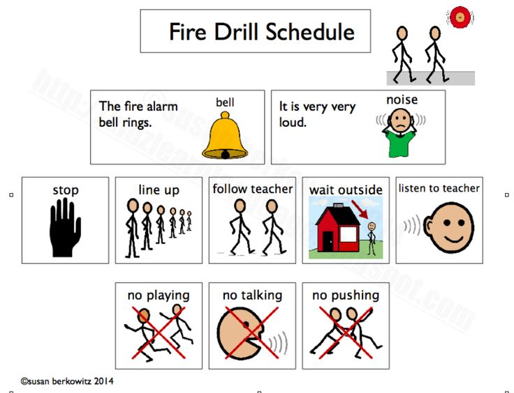 Classroom Freebies Too: Help Kids with Autism Get Through Fire Drills during National Fire prevention & Safety Week