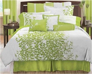 zzzFields Green Comforter Set   Lawrence Home Fashions | Decor