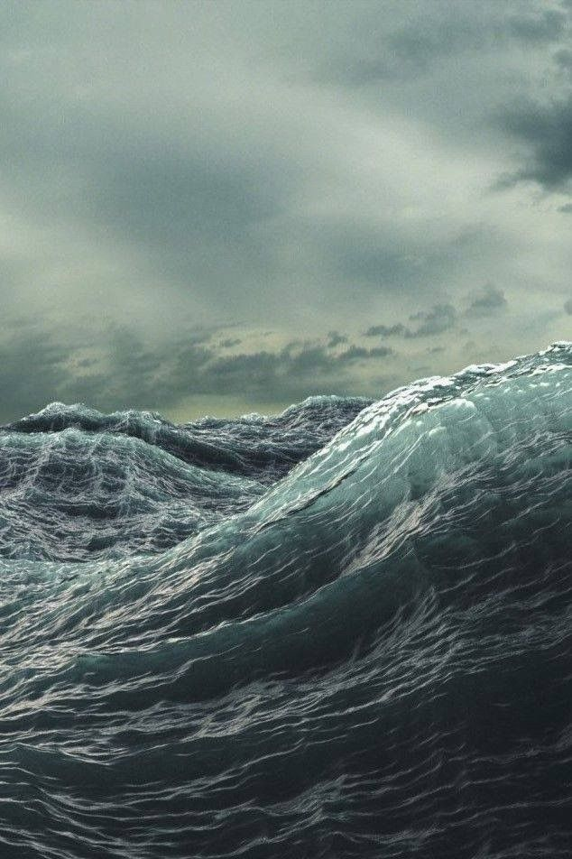 """""""The sea is emotion incarnate. It loves, hates, and weeps. It defies all… …"""