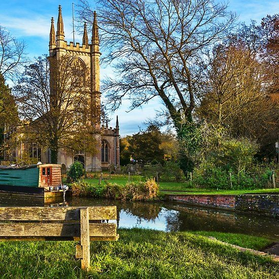 The Church By The Canal at Hungerford